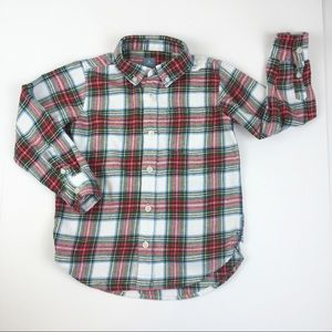 BabyGap Long Sleeve Button Up Flannel 5Yrs